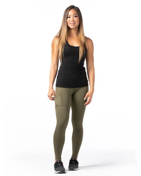 FITAID High-Waisted Leggings - Olive