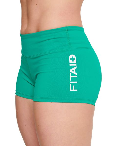 FITAID Kelly Green Booty Short
