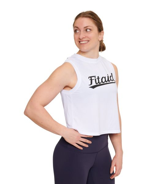 FITAID Open Back Cropped Jersey