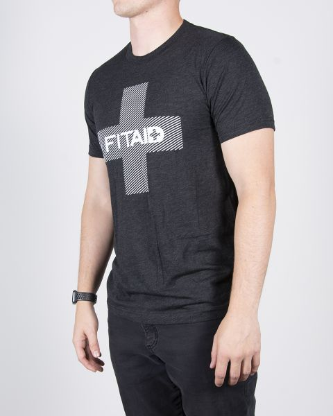 FITAID T-SHIRT PLUS - CHARCOAL