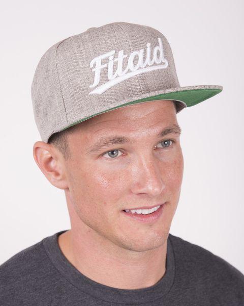 FITAID FLAT BILL SCRIPT HAT