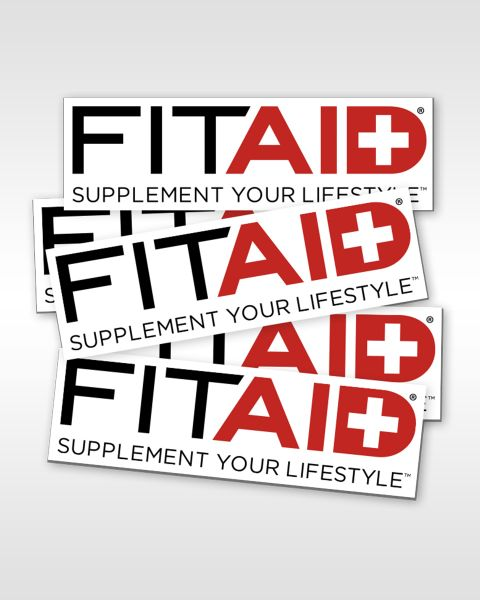 FITAID STICKERS (SET OF 5)