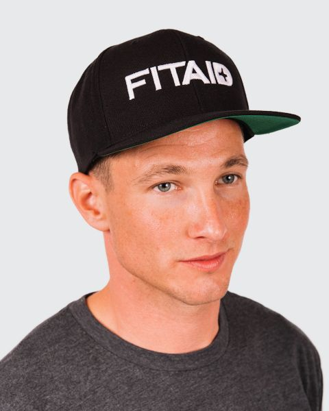 FITAID 3D SNAP - BACK HAT - BLACK