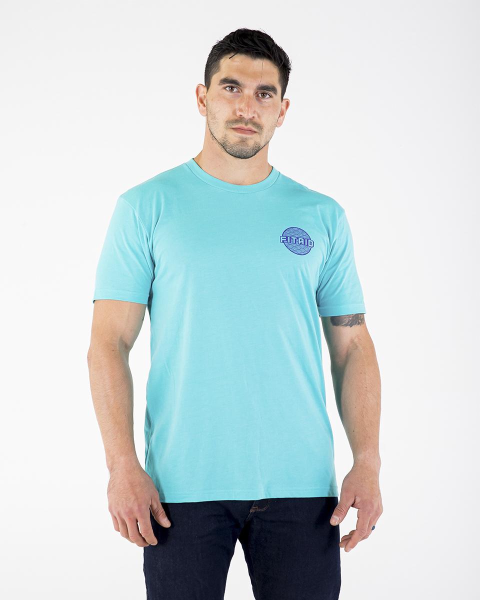 Dot Logo Blue T-Shirt