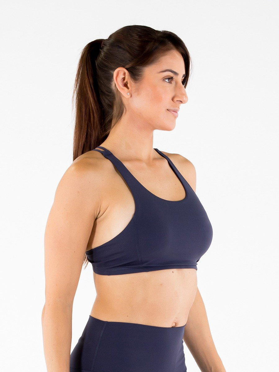 World's Softest Sports Bra - Navy