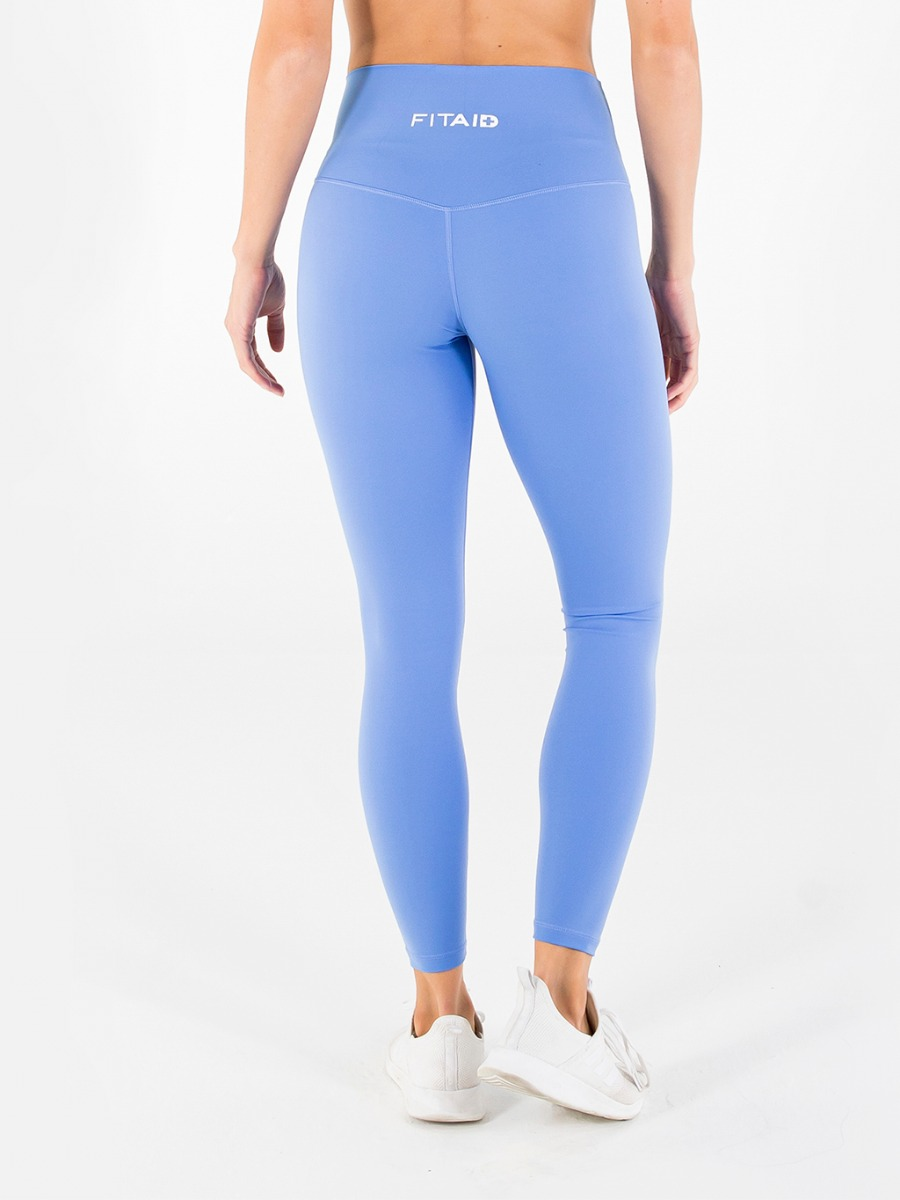 World Softest Legging - Corn Blue
