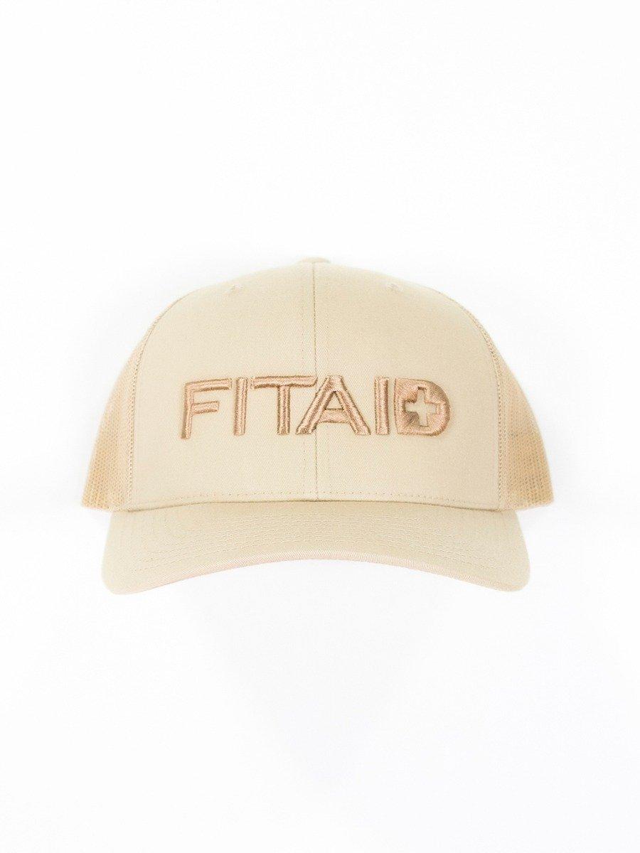 FITAID Curved Bill Hat - Tan