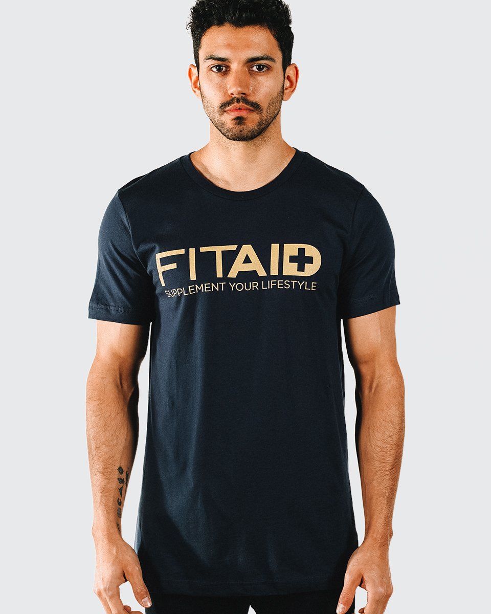 FITAID T-SHIRT - 100% RING SPUN COTTON